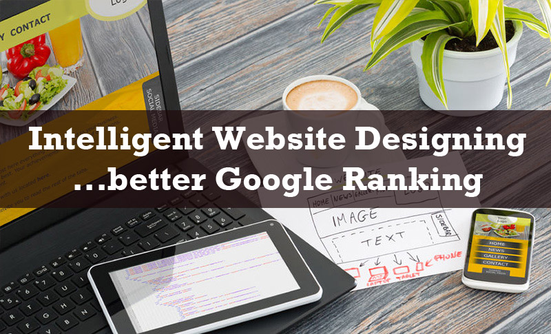Intelligent Website for better Google rankings